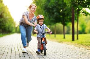 Schwierigkeiten Fahrrad fahren lernen