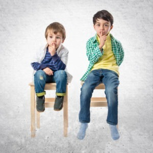 Kind nicht still sitzen können